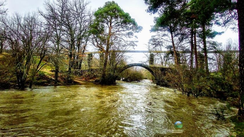 Ruta por el Rio Eresma - Puente de los Canales - Visitando las Inundaciones